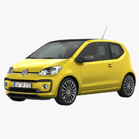3d model of volkswagen up!