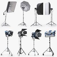 Studio lighting collection