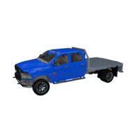 Dodge Truck Flatbed 3D Model
