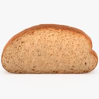 obj bread slice