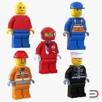 lego minifigures 3ds