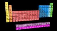 periodic table tavola periodica 3d model