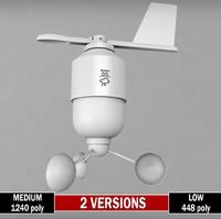weather meteo station anenometer max