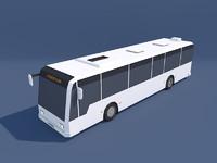 Low Poly City Bus