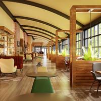 Cafe Interior 10