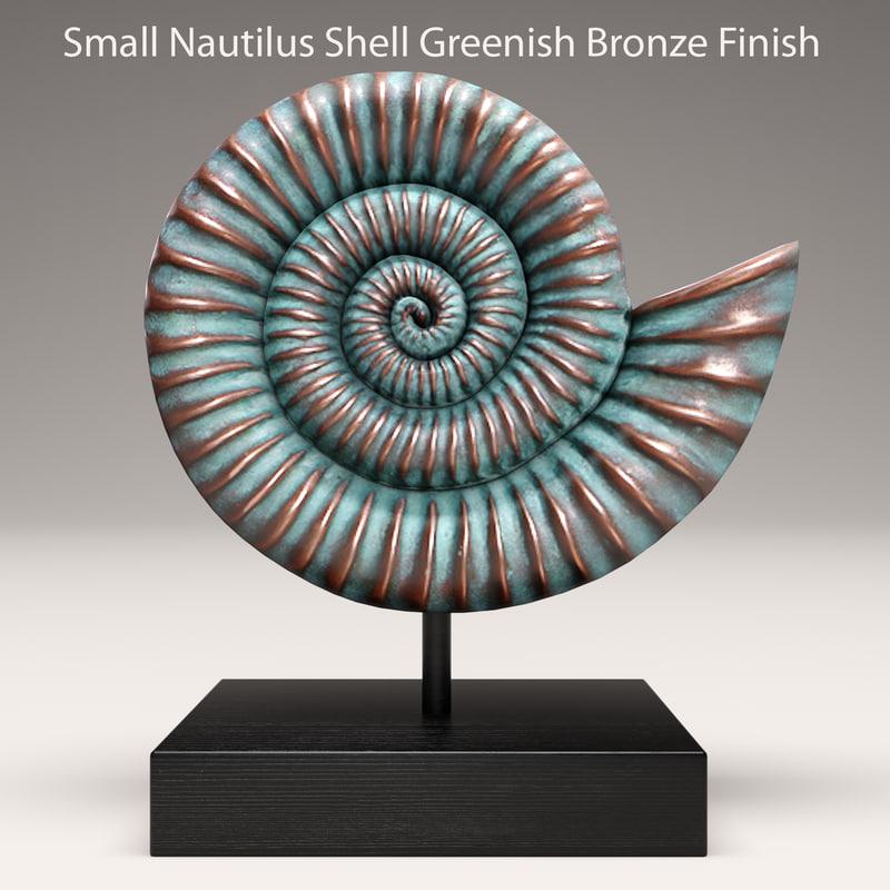 nautical shell 3d model