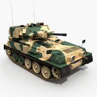 fv101 battle tank 3d max