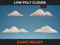 Low Poly Clouds Part 2