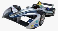 3d model formula e spark renault