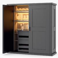 convivium storage unit 3d model