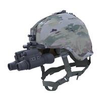 realistic advanced combat military helmet 3d model