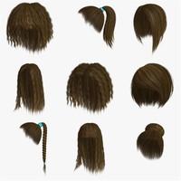 Polygon Hair Collection 4