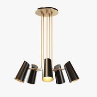 3ds rejuvenation cypress 5-arm chandelier