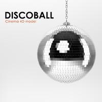3d model of disco ball