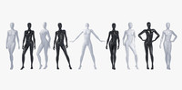 Female mannequin collection