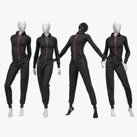 Female sport suit