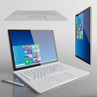 surface book 3d max