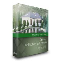 volume 69 trees viii 3d model