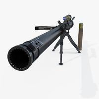 3d m18 recoilless rifle