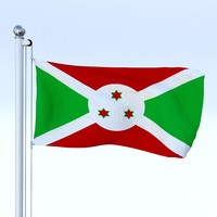 3d obj flag pole