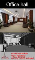 3d model interior office