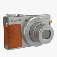 canon powershot shot 3d model