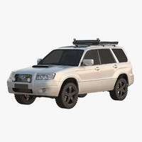forester offroad 3d max