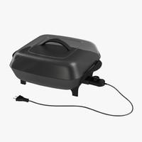 3d electric skillet model