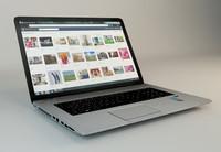 3d laptop lap
