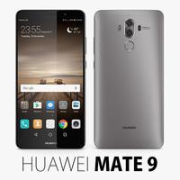 3d huawei mate 9 model
