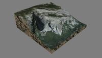 mesh el capitan yosemite 3d model