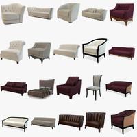 opera contemporary armchair sofa 3d max
