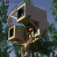Treehouse modern
