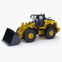 3d model wheel loader generic v1