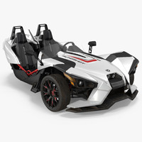 Polaris Slingshot Trike White 2016