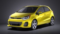 hatchback kia 5-door 3ds