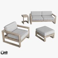 Portside Lounge Set by West Elm
