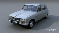 renault 16 ts 1970 c4d