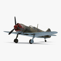 La-5 WWII Soviet Fighter Aircraft