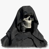 grim reaper 3d model