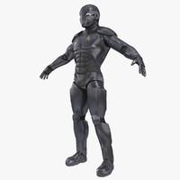 Sci-fi Futuristic Soldier Character