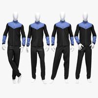 Male sport suit 2