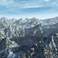 Terrain Mountain Range Lake Alaska 31 Landscape