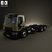 renault d wide 3d model