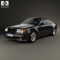 3d mercedes-benz e-class e model
