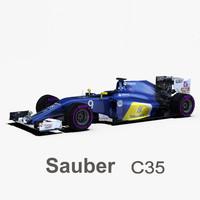 sauber c35 wheels 3ds