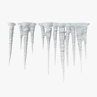 icicles 3d model