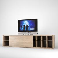 zanotta speed storage cabinet 3d 3ds
