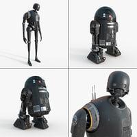 Star Wars K-2so C2-B5 Collection