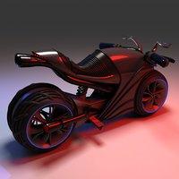Futuristic Motor Bike